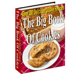 Over 200 Recipes - The Big Book Of Cookies